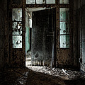 foreboding doorway Poster by Gary Heller