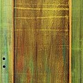 Forest Painted Door Print by Asha Carolyn Young