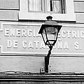 former headquarters of the energia electrica de cataluna raval Barcelona Catalonia Spain Poster by Joe Fox