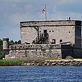 FORT MATANZAS Poster by Skip Willits