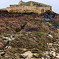 Fort National in Saint Malo Brittany Print by Olivier Le Queinec