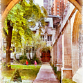 Fourth Presbyterian - A Chicago sanctuary Poster by Christine Till