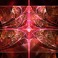 Fractal - Abstract - The essecence of simplicity Poster by Mike Savad