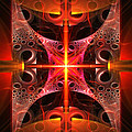 Fractal - Science - Cold Fusion Poster by Mike Savad