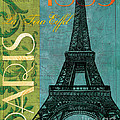Francaise 1 Poster by Debbie DeWitt