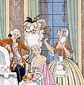 France in the 18th Century Print by Georges Barbier
