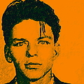 Frank Sinatra v1square Print by Wingsdomain Art and Photography