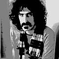 Frank Zappa - Chalk and Charcoal 2 Poster by Joann Vitali