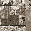 Franklin Delano Roosevelt Memorial - Bits and Pieces 2 Print by Mike McGlothlen