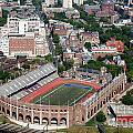 Franklin Field University City Pennsylvania Print by Bill Cobb