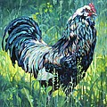 FREE RANGE Poster by Patricia A Griffin