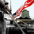Freedom Sails Print by Michael Hoard