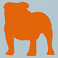 French Bulldog Orange Poster by Irina  March