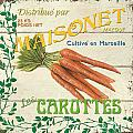 French Veggie Sign 2 Print by Debbie DeWitt