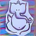 Fresh Ganesh 1 Print by TONY B CONSCIOUS