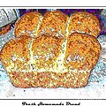 Fresh Homemade Bread 2 Poster by Barbara Griffin