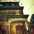 Front of Old House Print by Jill Battaglia