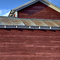Ft Collins Barn 13550 Print by Jerry Sodorff