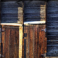 Ft Collins Barn Tin 13547 Print by Jerry Sodorff