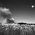 Full Moon Over Cape Cod Print by Diane Diederich