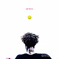 Gael Monfils Poster by Nishanth Gopinathan