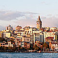 Galata Skyline 01 Poster by Rick Piper Photography