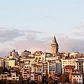 Galata Skyline 02 Poster by Rick Piper Photography