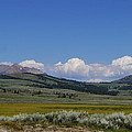 Gallatin Range Landscape Poster by Christiane Schulze Art And Photography