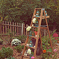 Garden Decorations Poster by Kay Pickens