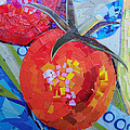 Garden Harvest Collage Detail Poster by Shawna  Rowe