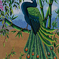 Garden Jewel 1 hand embroidery Print by To-Tam Gerwe