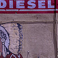 Gas Station Indian Chief Print by Garry Gay