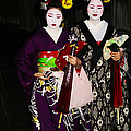 Geisha 2 Print by David Kacey