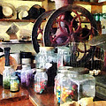 General Store With Candy Jars Print by Susan Savad