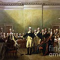 General Washington Resigning his Commission Poster by PG REPRODUCTIONS