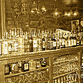 Genoa Bar Oldest Saloon in Nevada's Old West History Poster by Artist and Photographer Laura Wrede