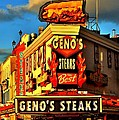 Geno's Print by Benjamin Yeager