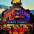 Geno's Steaks by Benjamin Yeager