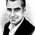 George Clooney Print by Andrew Read