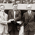 George Sisler Babe Ruth Ty Cobb Poster by Unknown