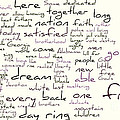 Gettysburg Address and I Have A Dream Print by David Bearden