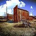 Ghost Towns in the SouthWest Poster by  Bob and Nadine Johnston