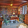 Gillette Castle Library by Susan Candelario