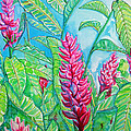 Ginger Jungle Poster by Kelly     ZumBerge