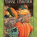 Give Thanks Print by Debbie DeWitt