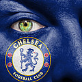 Go Chelsea FC Print by Semmick Photo