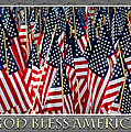 God Bless America Print by Carolyn Marshall