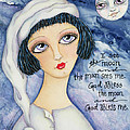 God Bless Me Poster by Joann Loftus