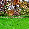 Golf My Way Print by Frozen in Time Fine Art Photography