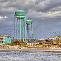 Good Morning Topsail Island Print by Betsy A  Cutler